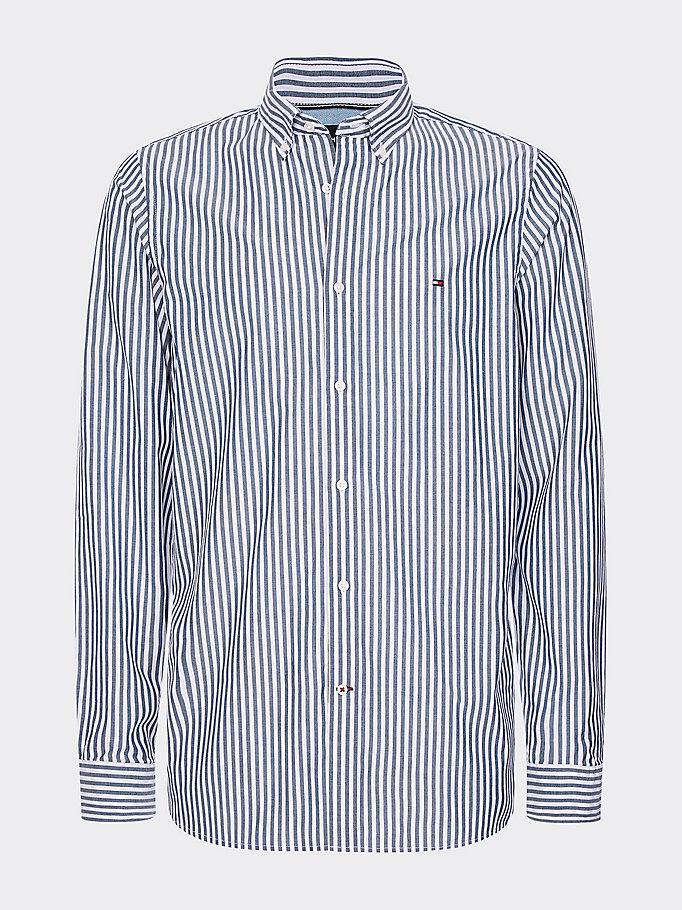 Slim fit overhemd met zachte afwerking | BLUE | Tommy Hilfiger