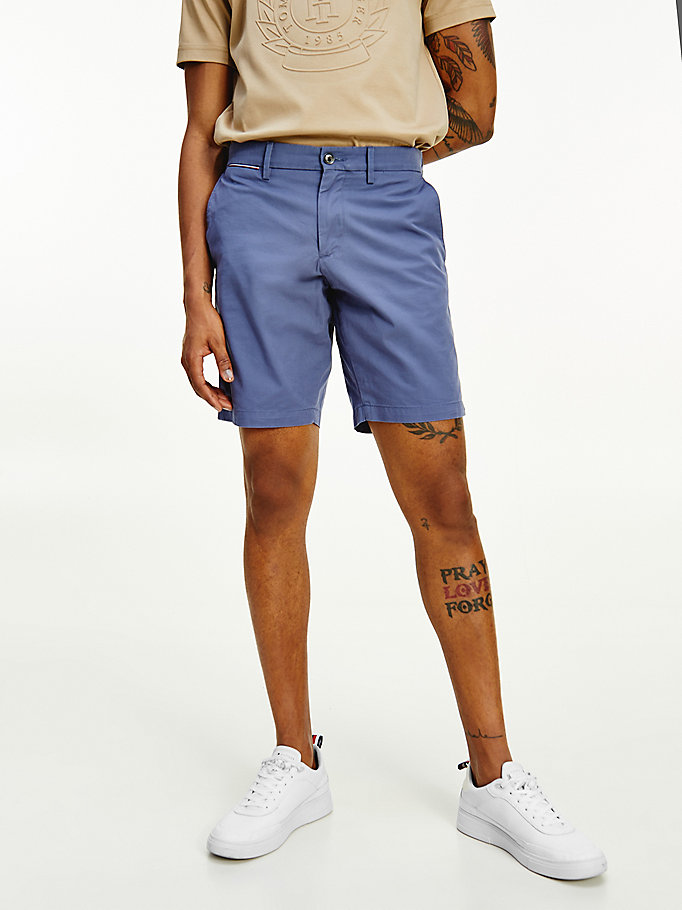 blue brooklyn lightweight shorts for men tommy hilfiger