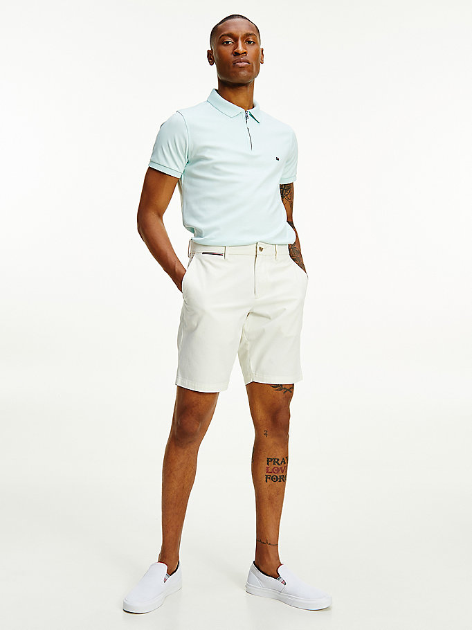 white brooklyn lightweight shorts for men tommy hilfiger