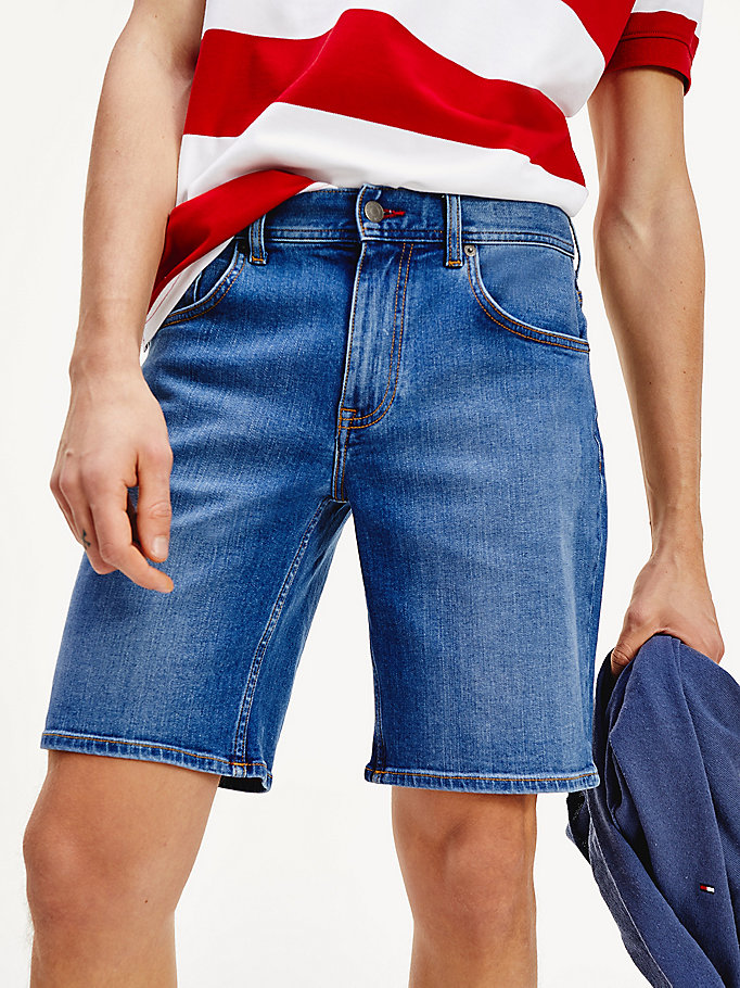 denim five pocket denim shorts for men tommy hilfiger