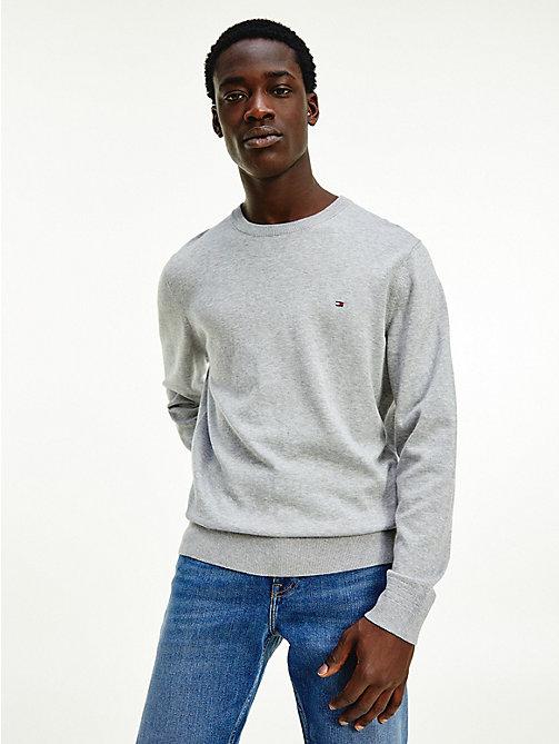 Tommy Hilfiger Mens Logo Signature V Neck Sweater Black Small NWT