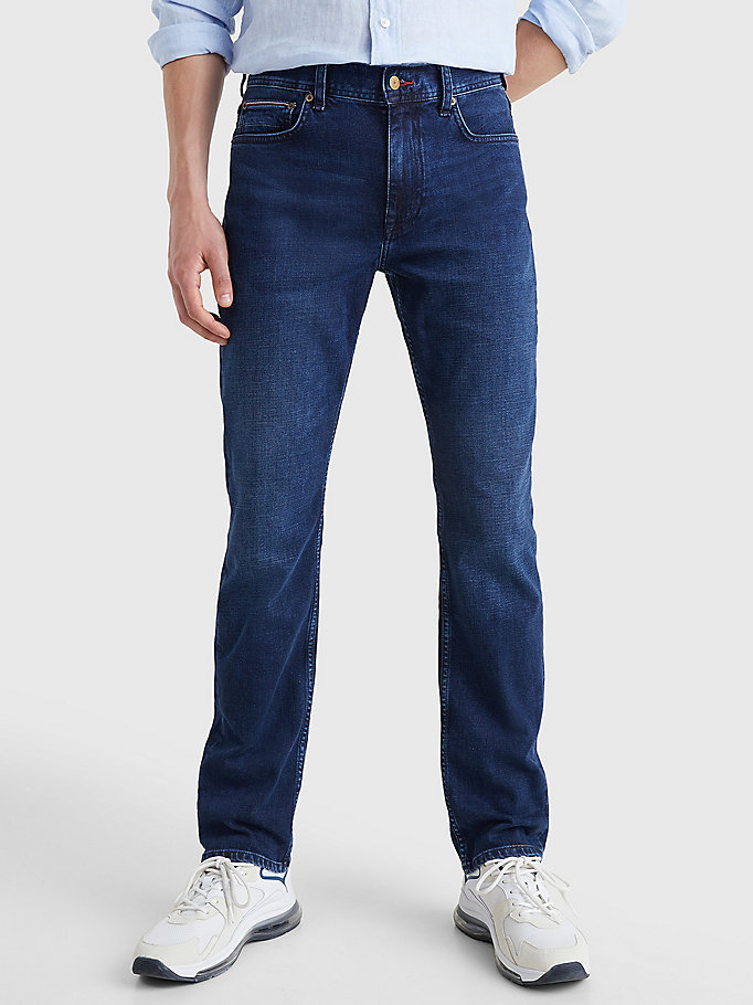 denim denton straight faded jeans for men tommy hilfiger