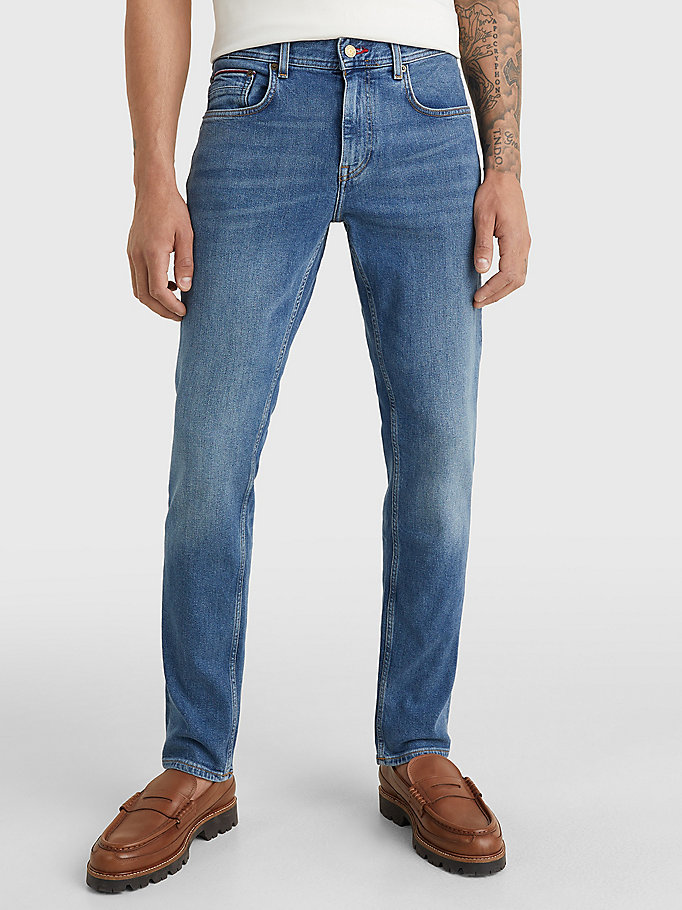 denim denton straight jeans for men tommy hilfiger