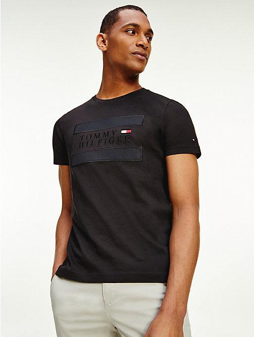 Tommy Hilfiger Cotton colour Sports logo Crew Neck Men/'s T Shirt