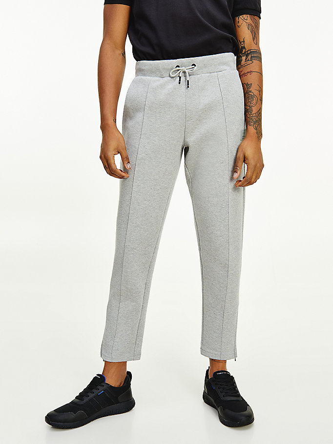 jogging th signature gris pour men tommy hilfiger