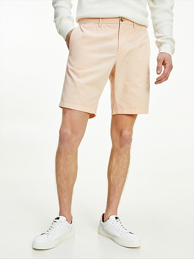short brooklyn structuré rose pour hommes tommy hilfiger