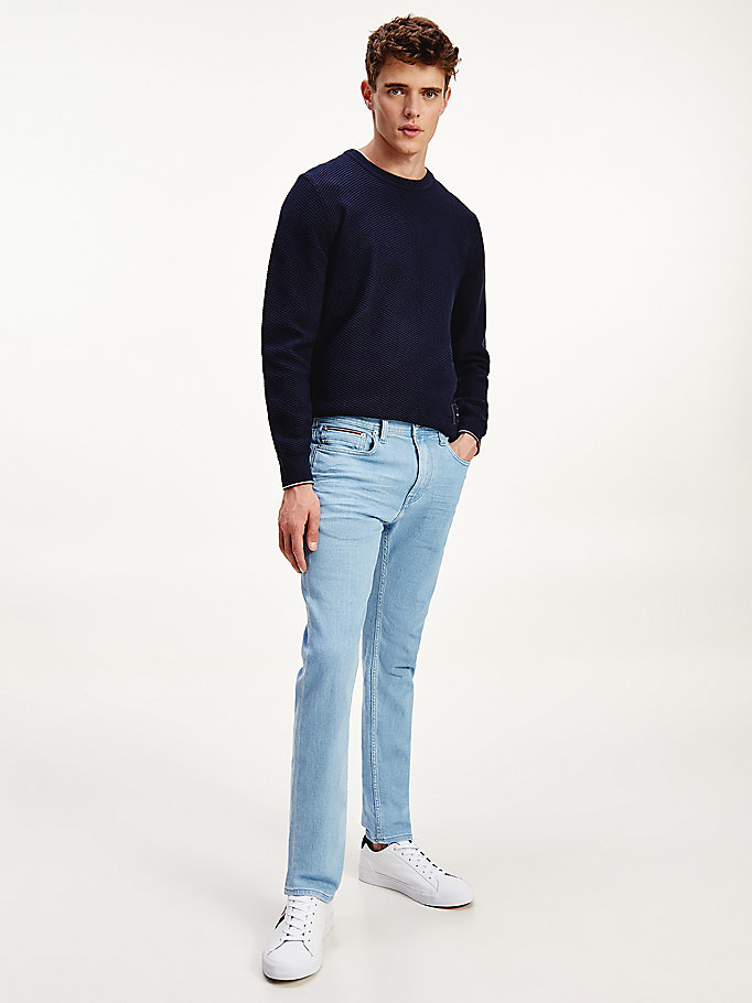 denim bleecker slim jeans for men tommy hilfiger