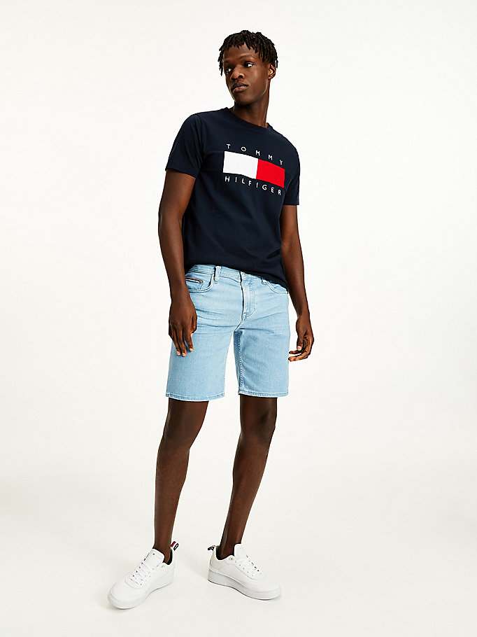 denim brooklyn regular jeans-shorts für herren - tommy hilfiger