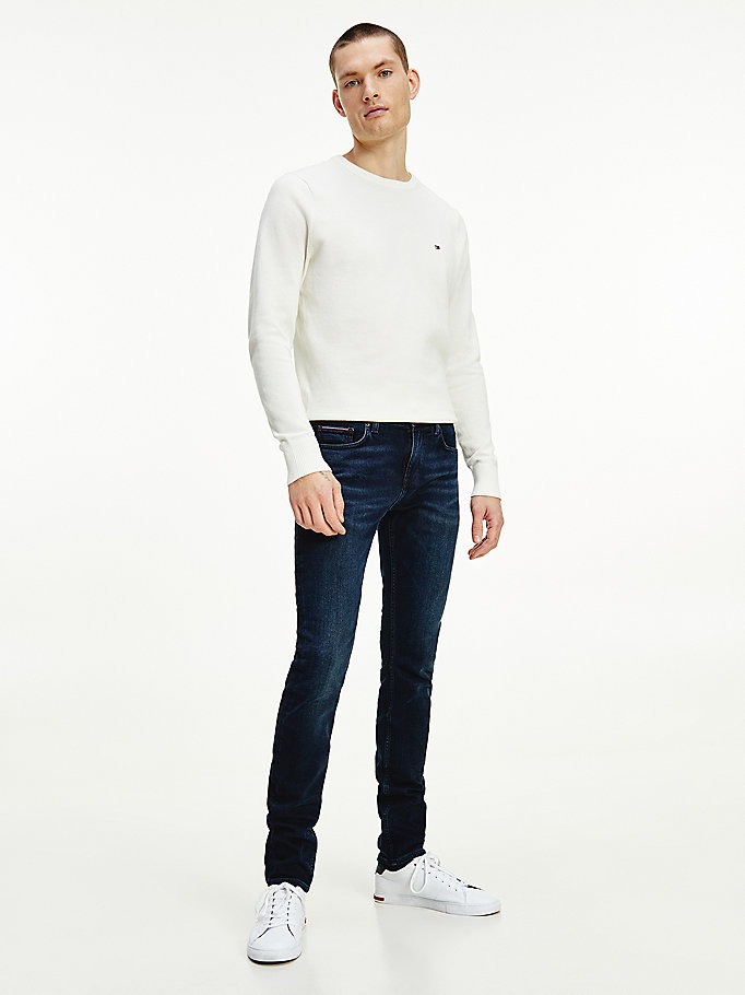 denim layton extra slim jeans for men tommy hilfiger