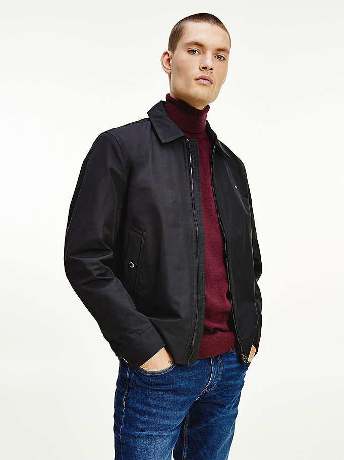 black collared ivy jacket for men tommy hilfiger
