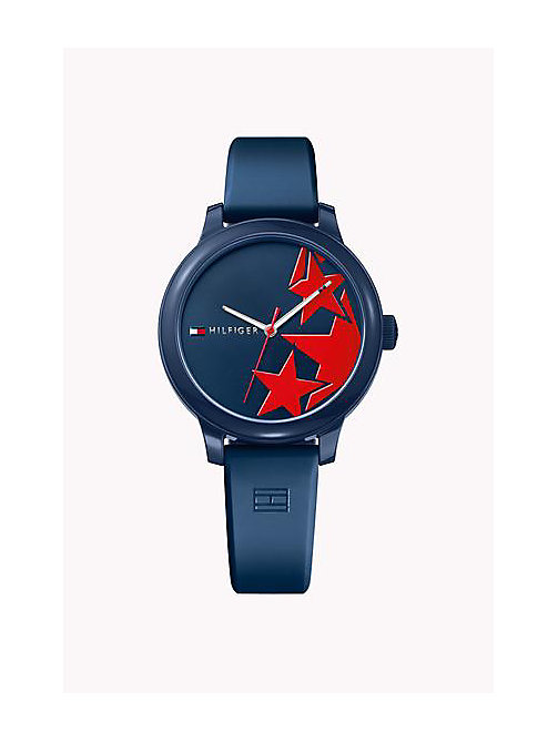 TOMMY HILFIGER Silicone Strap Watch - MULTI - TOMMY HILFIGER Bags & Accessories - main image