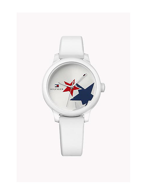 TOMMY HILFIGER Silicone Strap Watch - MULTI - TOMMY HILFIGER Watches - main image