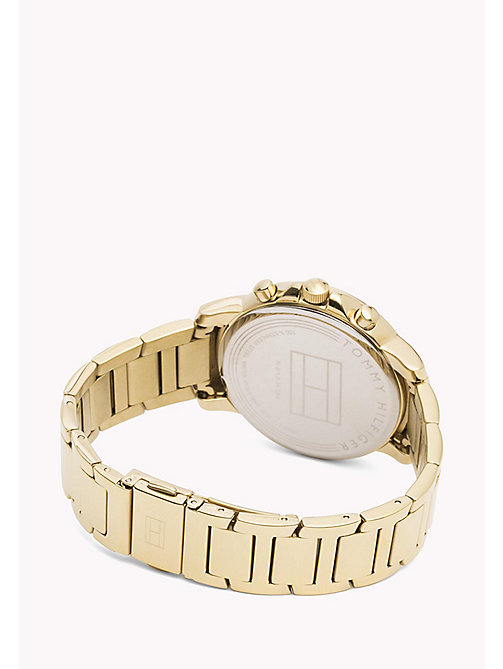 TOMMY HILFIGER Gold-Plated Stainless Steel Watch - MULTI - TOMMY HILFIGER Watches - detail image 1