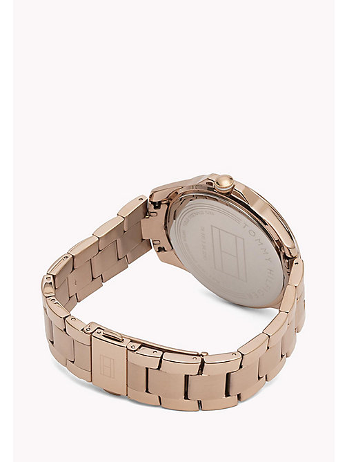 TOMMY HILFIGER Rose Gold-Plated Watch - MULTI - TOMMY HILFIGER The Office Edit - detail image 1