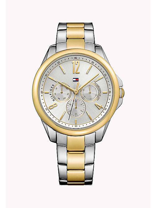 TOMMY HILFIGER Gold-Plated Stainless Steel Watch - MULTI - TOMMY HILFIGER The Office Edit - main image