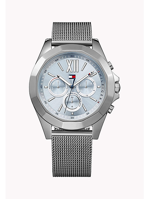 TOMMY HILFIGER GIGI HADID Stainless Steel Mesh Strap Watch - MULTI - TOMMY HILFIGER Watches - main image