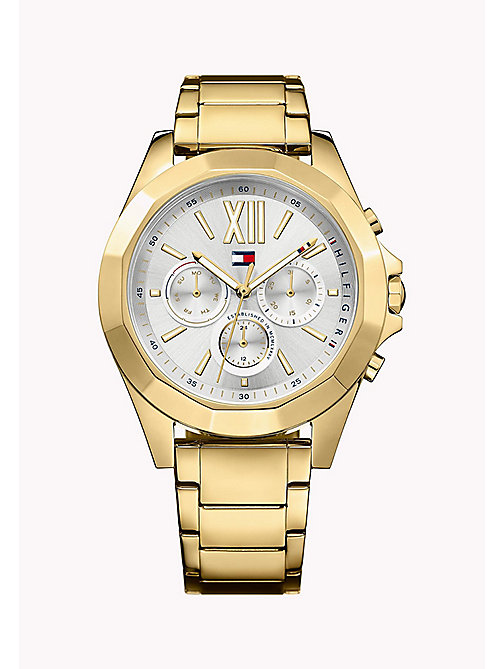 TOMMY HILFIGER Stainless Steel Watch - MULTI - TOMMY HILFIGER The Office Edit - main image