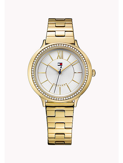 TOMMY HILFIGER Gold-Plated Stainless Steel Watch - MULTI - TOMMY HILFIGER Watches - main image