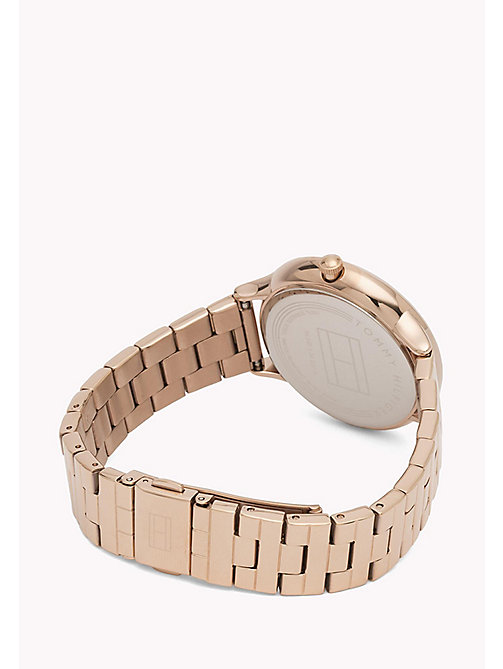 TOMMY HILFIGER Rose Gold-Plated Stainless Steel Watch - MULTI - TOMMY HILFIGER Watches - detail image 1