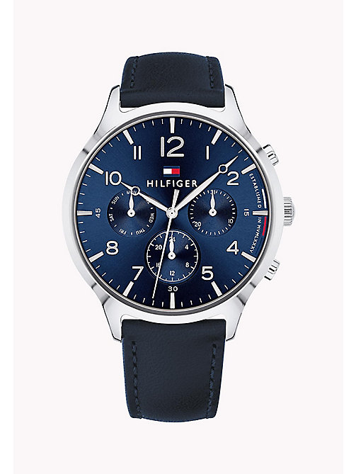 TOMMY HILFIGER Stainless Steel Sub-Counter Watch - NAVY - TOMMY HILFIGER Watches & Jewelry - main image