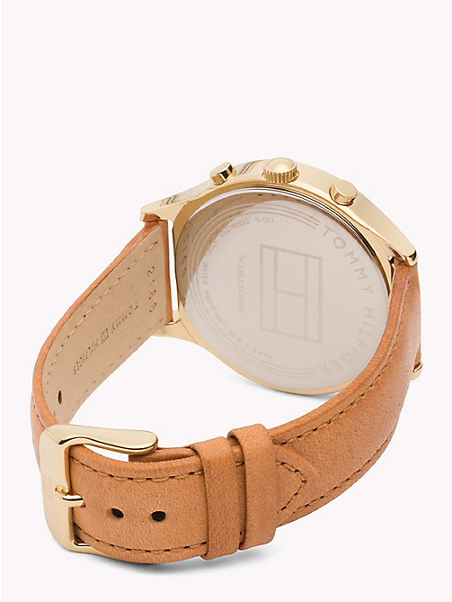 TOMMY HILFIGER Emmy Brown Watch - BROWN - TOMMY HILFIGER Orologi - dettaglio immagine 1
