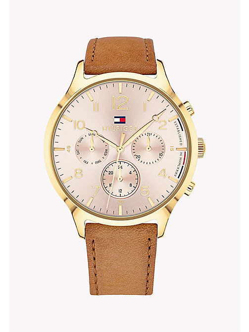 TOMMY HILFIGER Emmy Brown Watch - BROWN - TOMMY HILFIGER Orologi - immagine principale