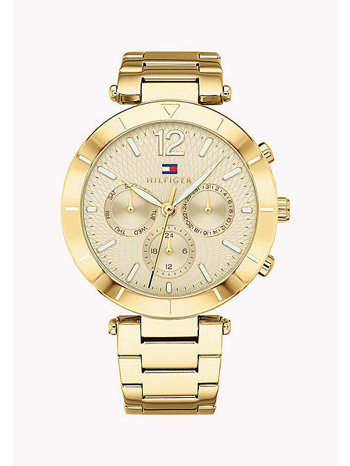 TOMMY HILFIGER Chloe Gold Watch - YELLOW GOLD - TOMMY HILFIGER Watches - main image