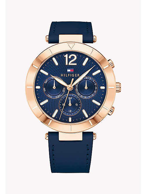 TOMMY HILFIGER Chloe Navy Watch - NAVY - TOMMY HILFIGER Watches - main image
