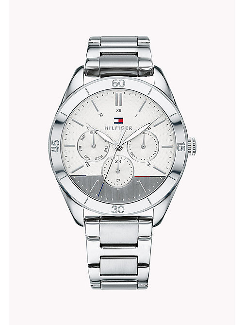 TOMMY HILFIGER Stainless Steel Technical Watch - STAINLESTAINLESS STEEL STEEL - TOMMY HILFIGER Watches & Jewelry - main image