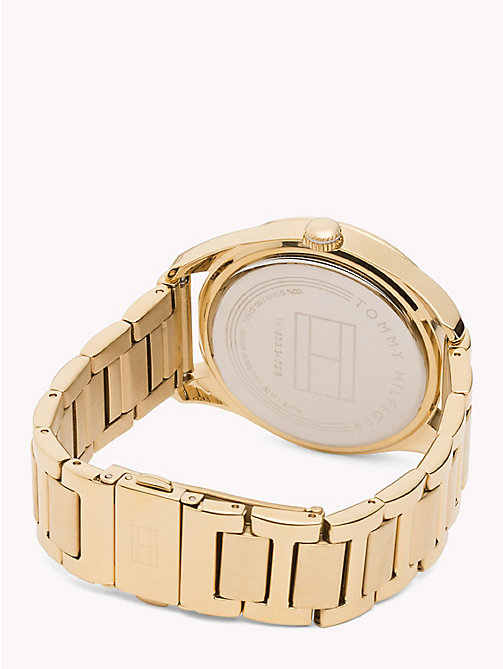 TOMMY HILFIGER Countdown Bezel Watch - YELLOW GOLD - TOMMY HILFIGER Watches - detail image 1
