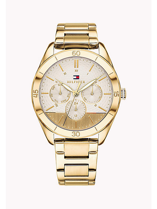TOMMY HILFIGER Countdown Bezel Watch - YELLOW GOLD - TOMMY HILFIGER Watches - main image