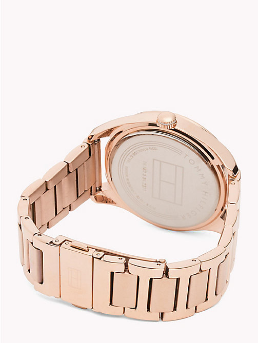 TOMMY HILFIGER Rose Gold-Plated Concentric Pattern Watch - ROSE GOLD - TOMMY HILFIGER Watches - detail image 1