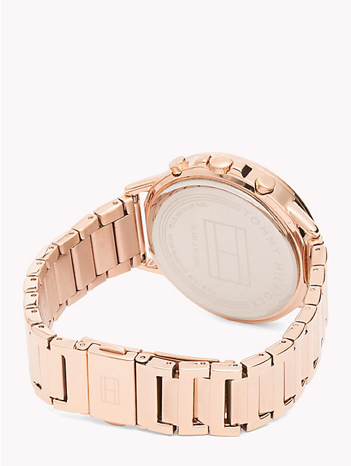 TOMMY HILFIGER Rose Gold-Plated Gem Watch - ROSE GOLD - TOMMY HILFIGER Watches - detail image 1