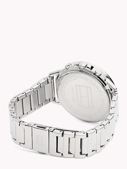 TOMMY HILFIGER Pretty Stainless Steel Watch - STAINLESS STEEL - TOMMY HILFIGER Watches & Jewelry - detail image 1