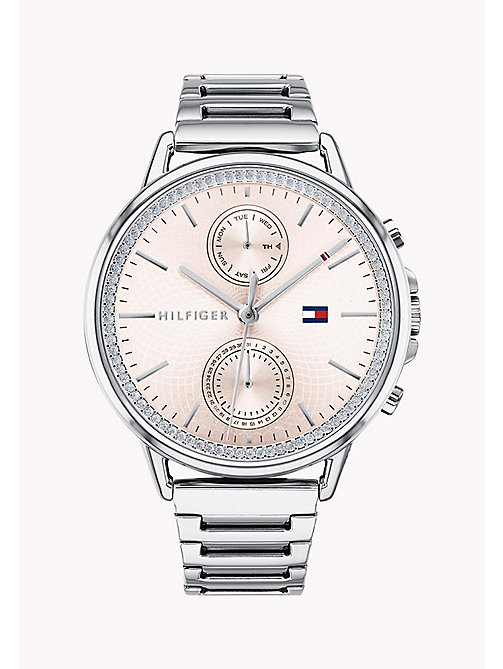 TOMMY HILFIGER Pretty Stainless Steel Watch - STAINLESS STEEL - TOMMY HILFIGER Watches & Jewelry - main image