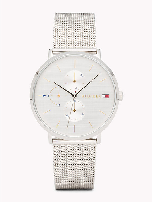 TOMMY HILFIGER Triple Dial Stainless Steel Watch - STAINLESS STEEL - TOMMY HILFIGER Watches - main image