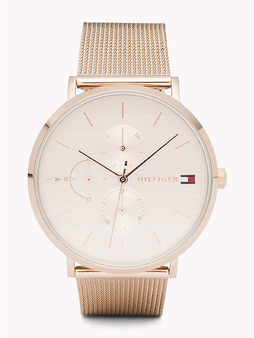 TOMMY HILFIGER Jenna Carnation Gold Watch - CARNATION GOLD - TOMMY HILFIGER Watches - main image