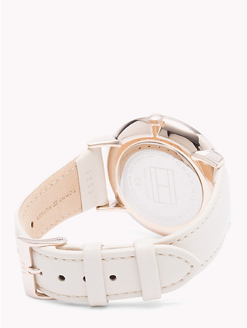 TOMMY HILFIGER Jenna Nude Leather Watch - NUDE LEATHER - TOMMY HILFIGER Watches - detail image 1