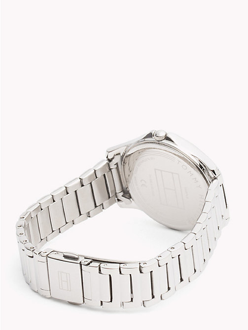 TOMMY HILFIGER Classic Stainless Steel Watch - STAINLESS STEEL - TOMMY HILFIGER Watches & Jewelry - detail image 1