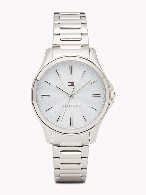 TOMMY HILFIGER Classic Stainless Steel Watch - STAINLESS STEEL - TOMMY HILFIGER Watches - main image