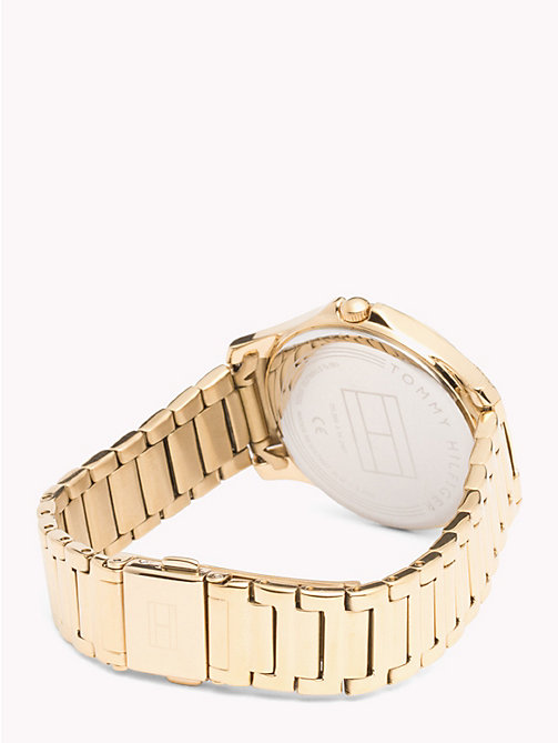 TOMMY HILFIGER Yellow Gold Watch - YELLOW GOLD - TOMMY HILFIGER Watches - detail image 1