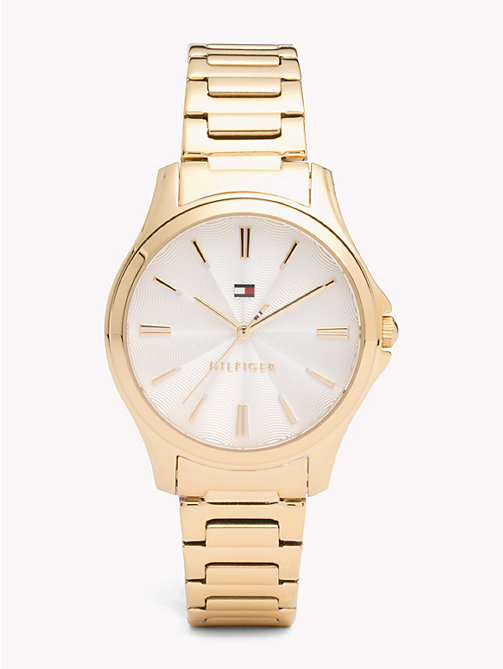 TOMMY HILFIGER Yellow Gold Watch - YELLOW GOLD - TOMMY HILFIGER Watches - main image
