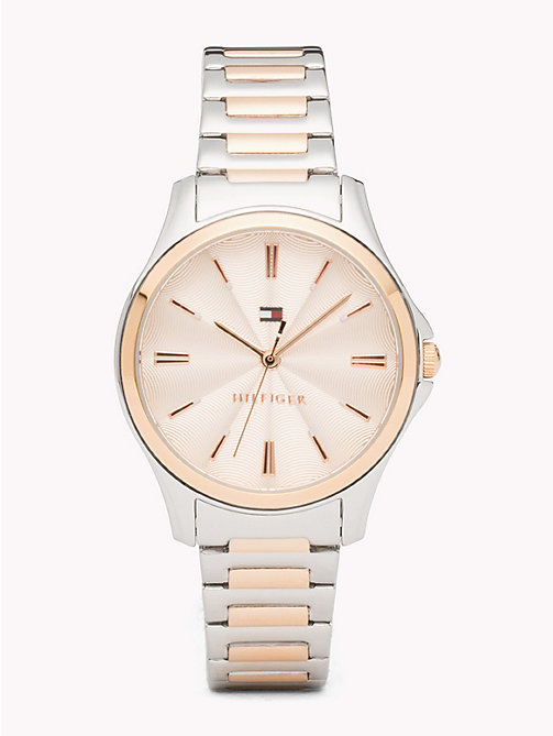 TOMMY HILFIGER Two-Tone Watch - TWO TONE - TOMMY HILFIGER Watches & Jewelry - main image