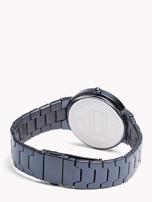 TOMMY HILFIGER Avery Blue IP Watch - BLUE IP - TOMMY HILFIGER Watches & Jewelry - detail image 1
