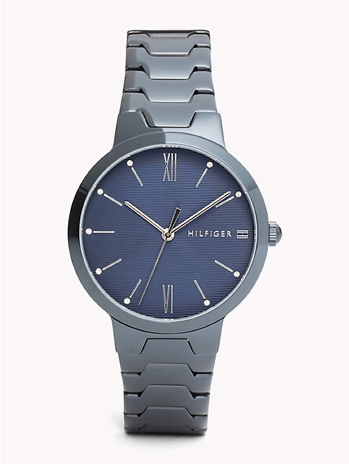 TOMMY HILFIGER Avery Blue IP Watch - BLUE IP - TOMMY HILFIGER Uhren - main image