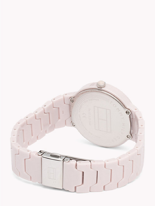 TOMMY HILFIGER Avery Blush Ceramic Watch - BLUSH CERAMIC - TOMMY HILFIGER Watches & Jewelry - detail image 1