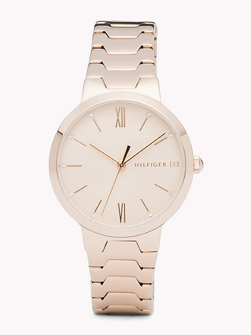 TOMMY HILFIGER Avery Carnation Gold Watch - CARNATION GOLD - TOMMY HILFIGER Montres - image principale