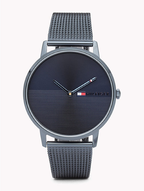 TOMMY HILFIGER Alex Ionic Steel Watch - IONIC PLATED BLUE STEEL - TOMMY HILFIGER Watches & Jewelry - main image