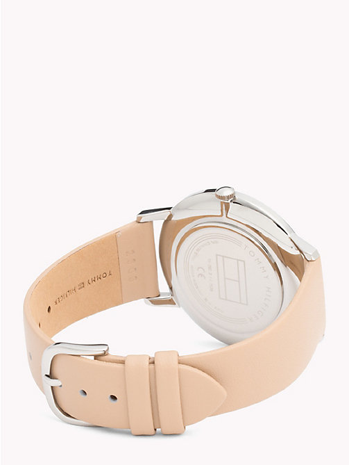 TOMMY HILFIGER Alex Brown Leather Watch - BROWN LEATHER - TOMMY HILFIGER Watches & Jewelry - detail image 1