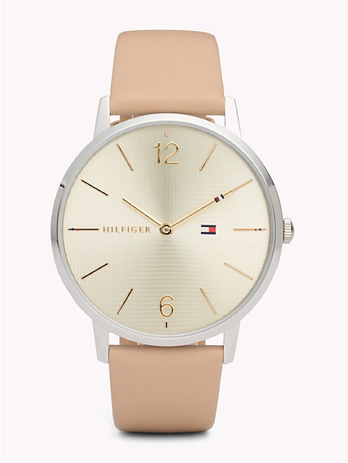 TOMMY HILFIGER Alex Brown Leather Watch - BROWN LEATHER - TOMMY HILFIGER Watches - main image